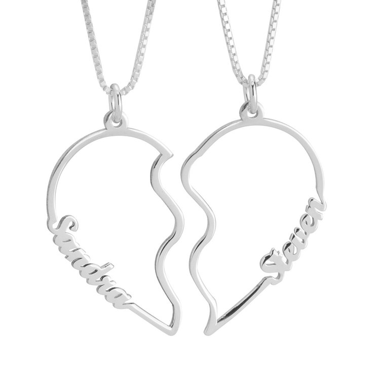 His and Her Necklaces
