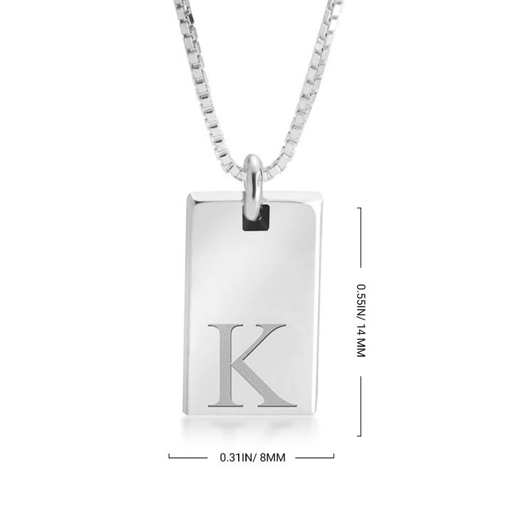 Small Bar Necklace - Information