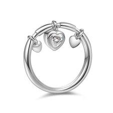 Dangling Heart Ring
