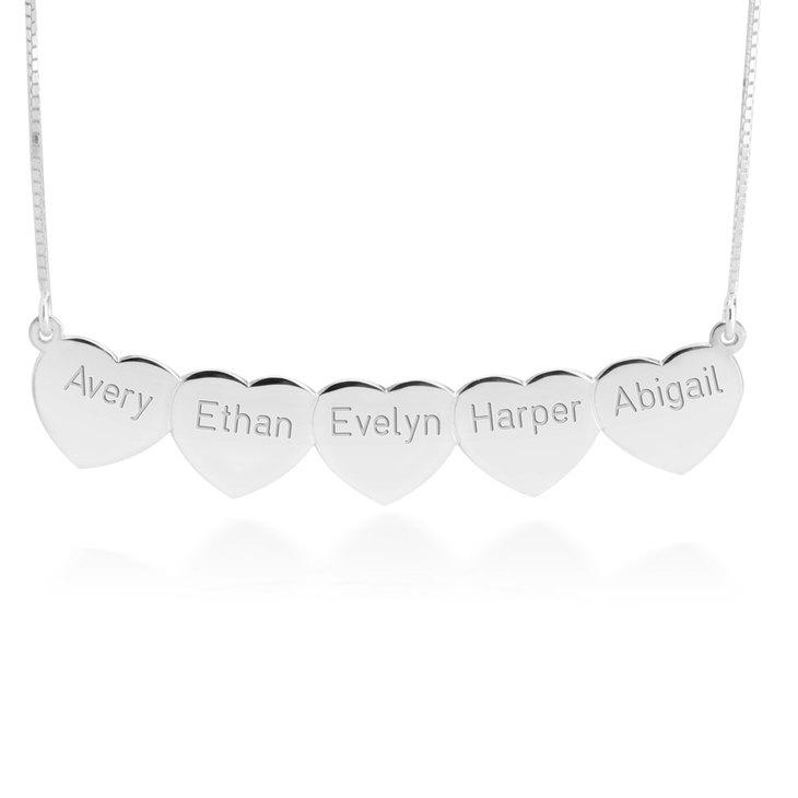 Multi Heart Necklace - Picture 2