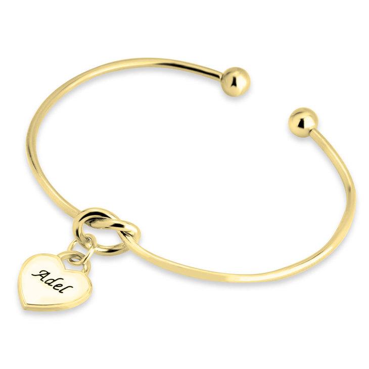 Bracelet Nœud avec Cœur