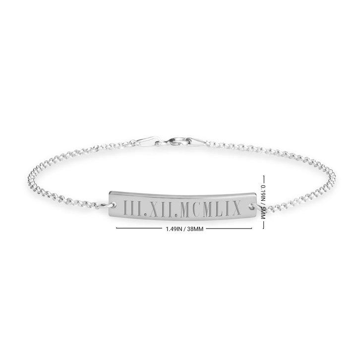Bracelet Chiffres Romains - Information