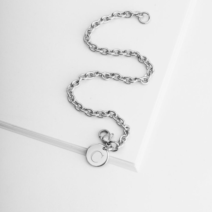Personalized Initial Bracelet - Picture 2