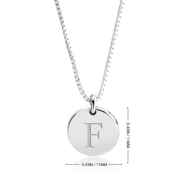Letter Pendant Necklace - Information