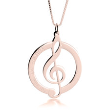 Music Note Pendant