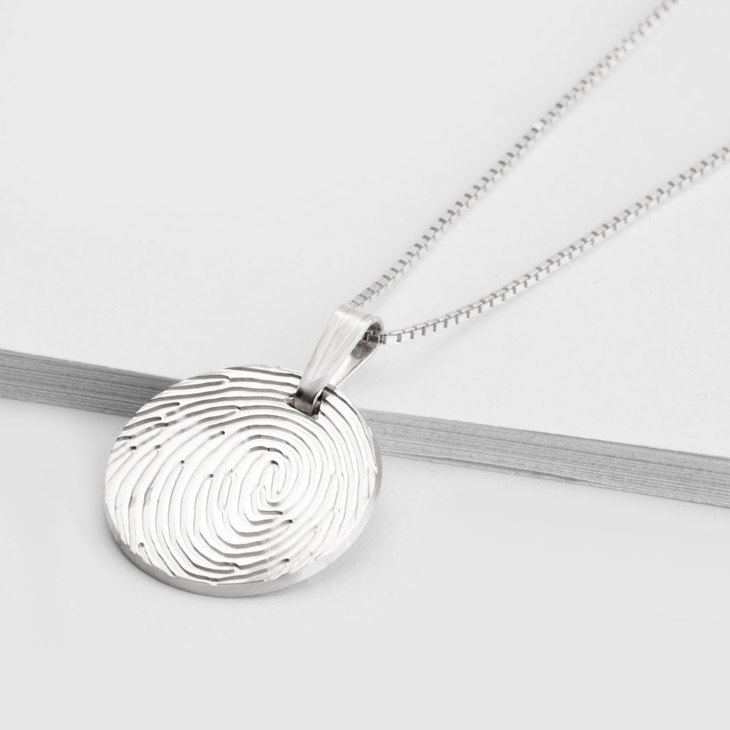 Fingerprint Charm - Picture 2
