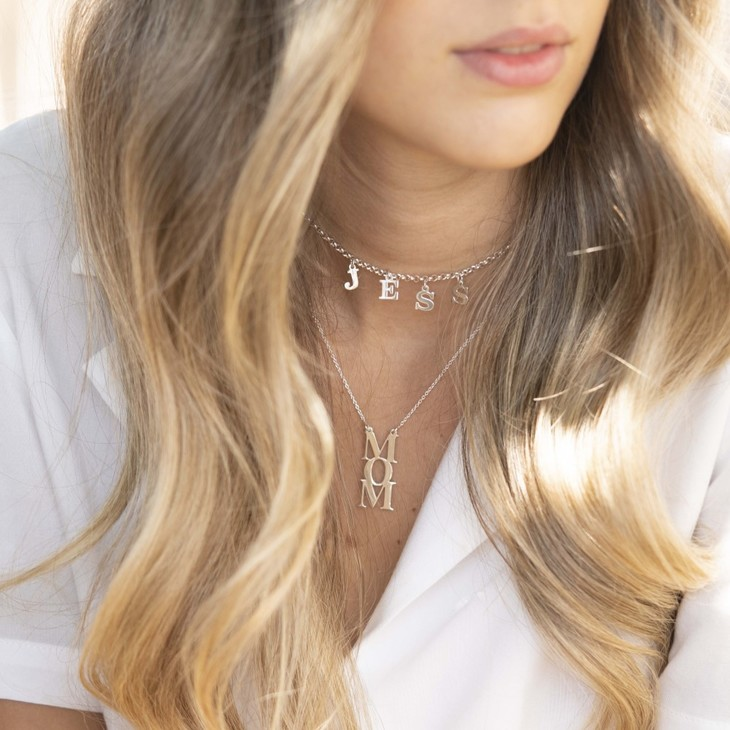Choker Name Necklace - Information