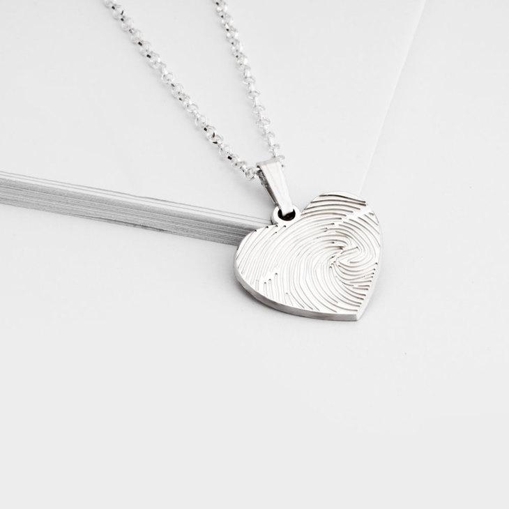 Fingerprint Heart - Picture 2