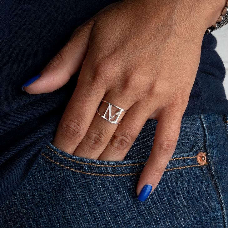Custom Initial Ring - Model