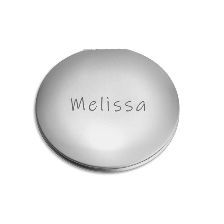 Personalized Compact Mirror - Picture 3