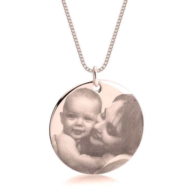 Circle Picture Necklace