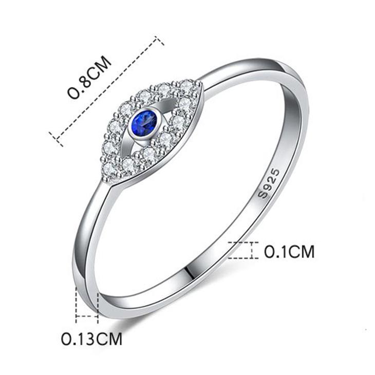 Turquoise Evil Eye Ring - Information