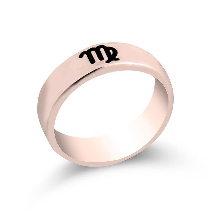 Zodiac Engraved Ring