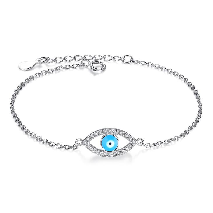 Turquoise Classic Evil Eye Bracelet