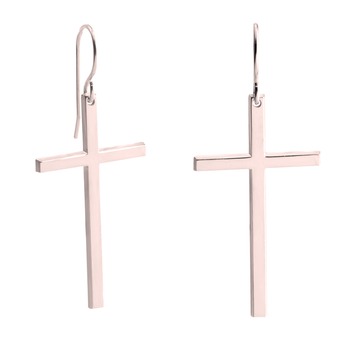Big Cross Earrings