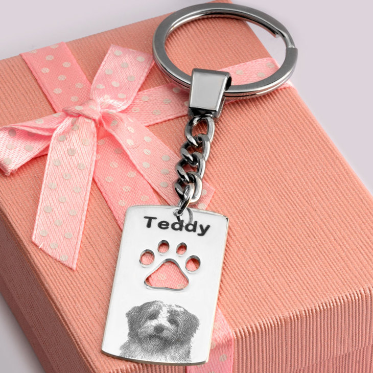 Dog Picture Keychain - Picture 2
