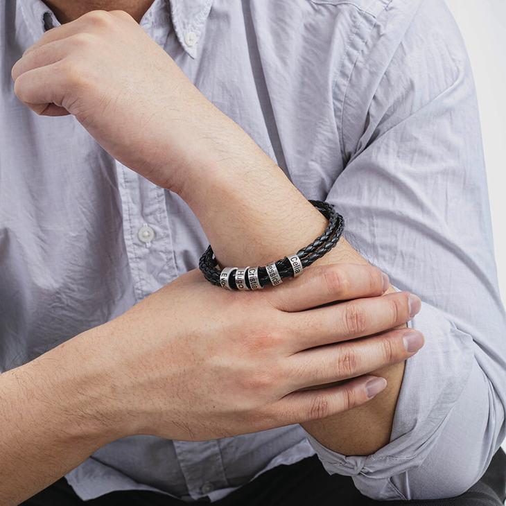 Bracelet en Cuir Personnalisé - Model
