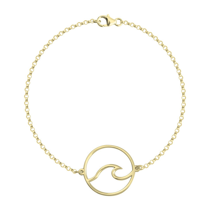 Circle Wave Bracelet