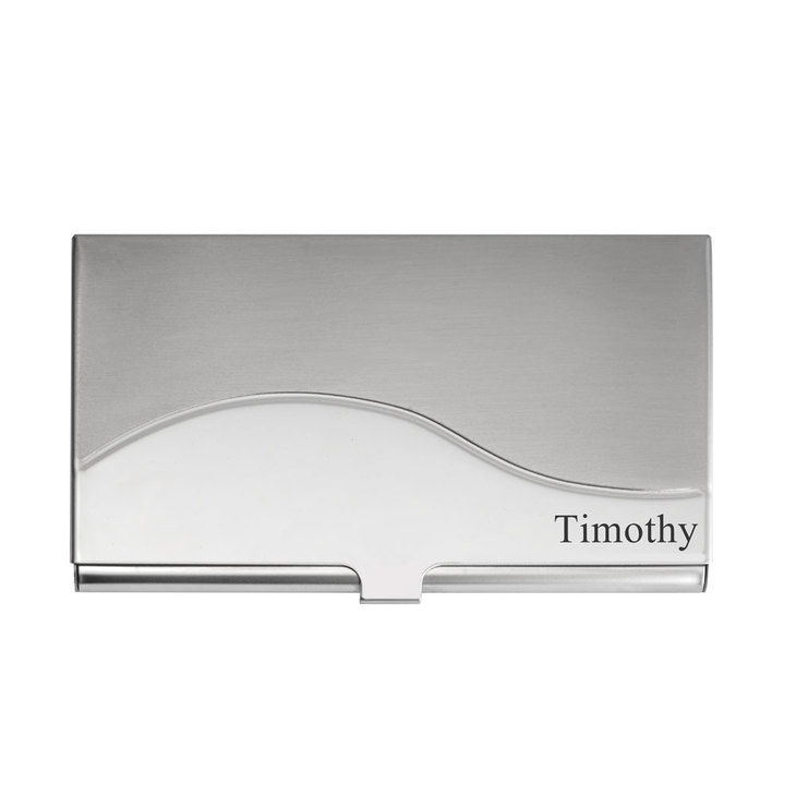 Custom Stainless Steel Card Holder