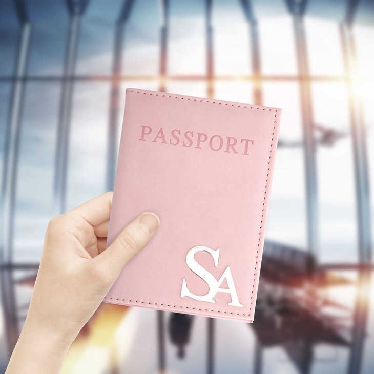 Personalized Passport Cover - Model