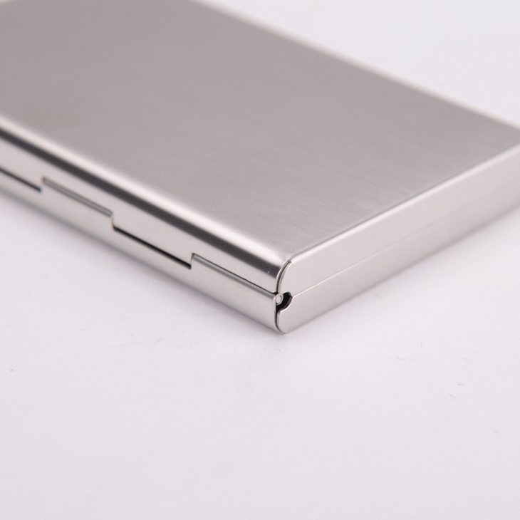 Engraved Metal Card Holder - Picture 3