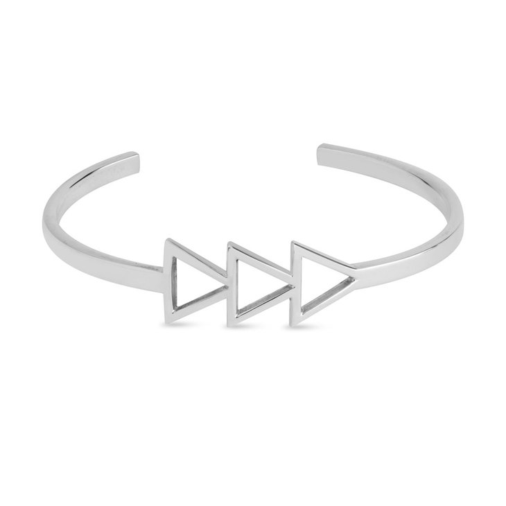 Three Triangle Bangle