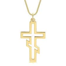 Collar de Cruz Ortodoxa Rusa