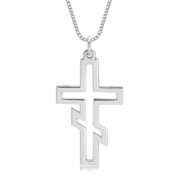 Russian Orthodox Cross Necklace