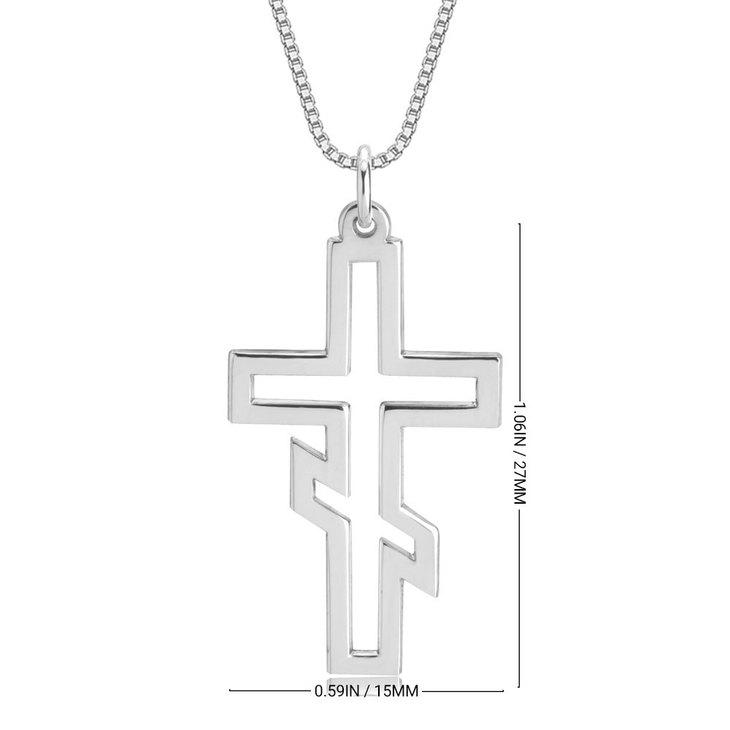 Collar de Cruz Ortodoxa Rusa - Information