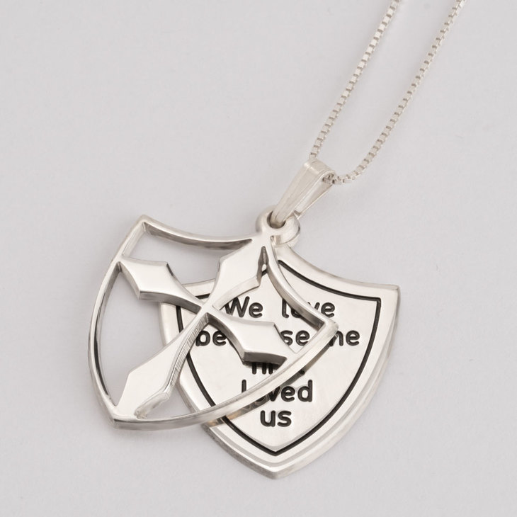 Shield of Faith Necklace - Picture 2