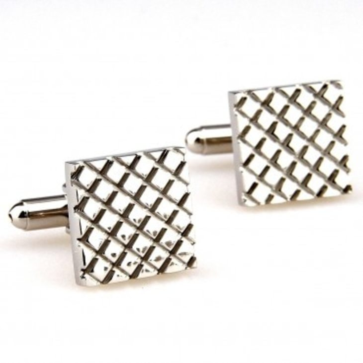 Silver Fashion Men Cufflinks