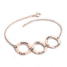 Bracelet Discs Gravés