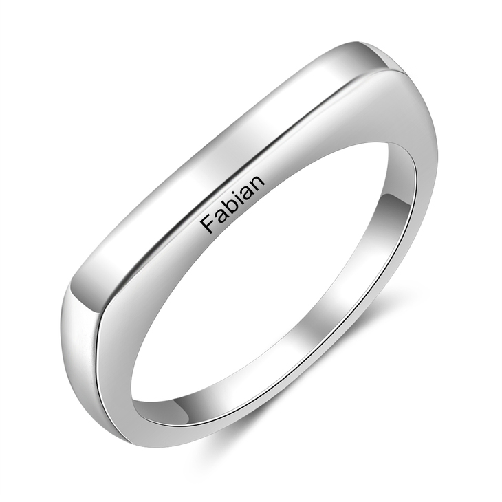 Delicate Engraved Ring