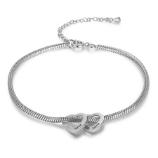 Personalized Mom Charm Bracelet with Engraved Kids Names