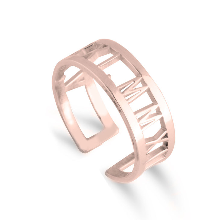 Cut Out Personalized Ring
