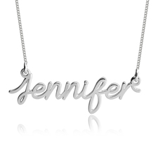 Light Cursive Name Necklace