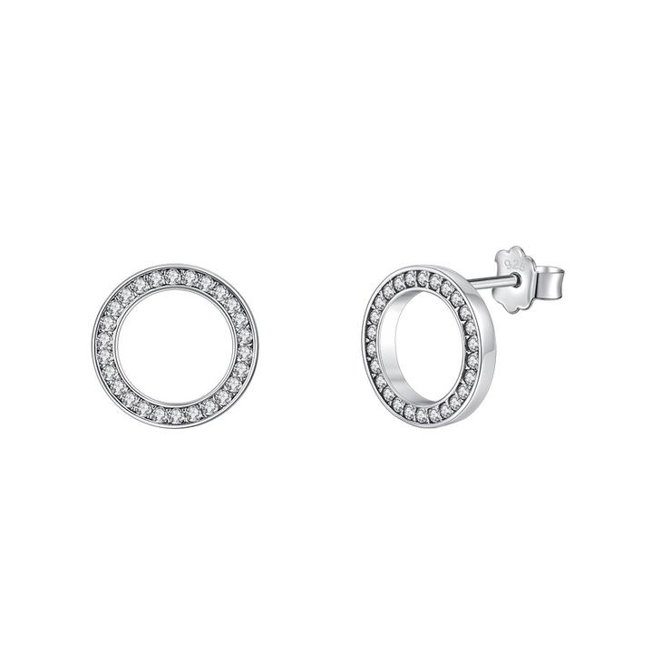 Loop Cubic Zirconia Earrings