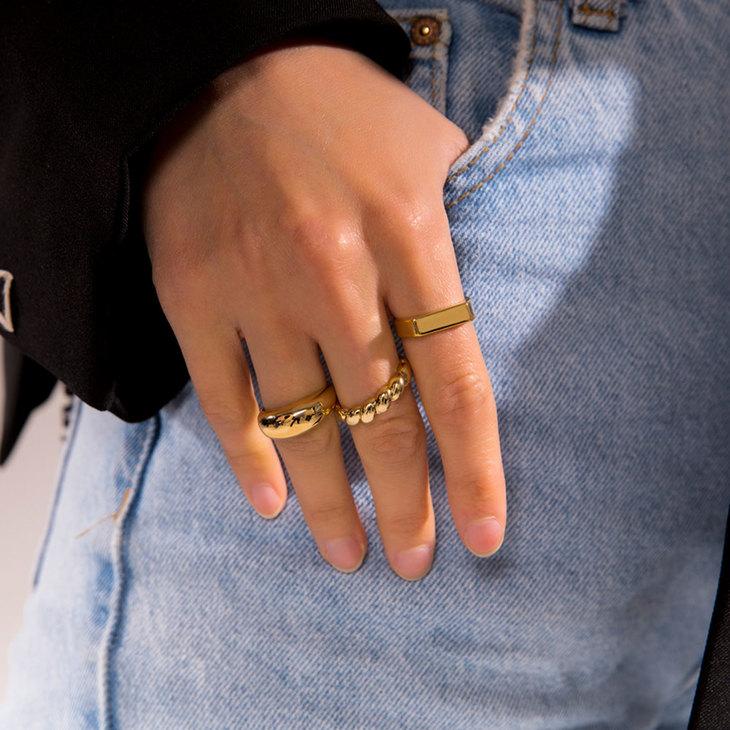 Croissant Ring - Model