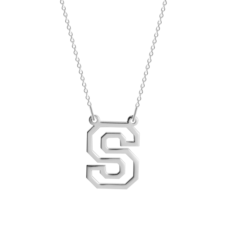 Varsity Initial Necklace