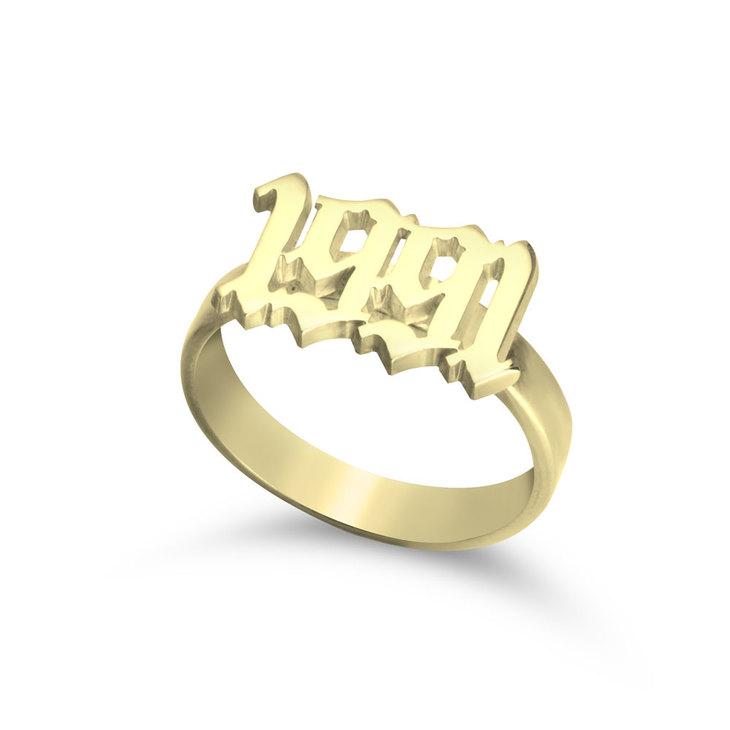 Old English Year Ring
