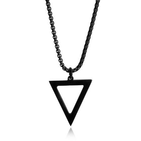Black Arrow Men's Necklace