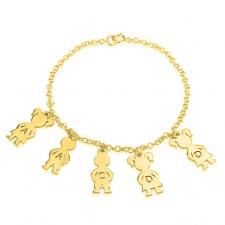24K Gold Plated Mom Bracelet