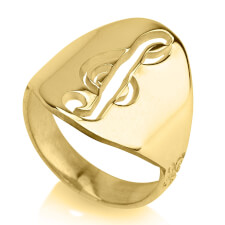 24K Gold Plated Musical Sol Note Ring