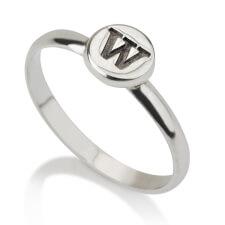 Sterling Silver Circle Midi Ring