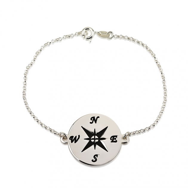 Sterling Silver Compass