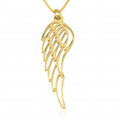 24k Gold Plated Angel Wing Necklace